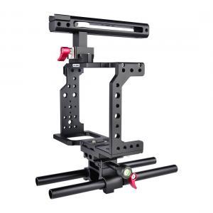 Yelangu C8 Videokamerabur Cage med Rälsstång universal modell