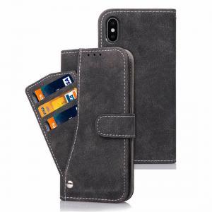 Plånboksfodral för iPhone X/XS - Med kortplatser och sedelfack