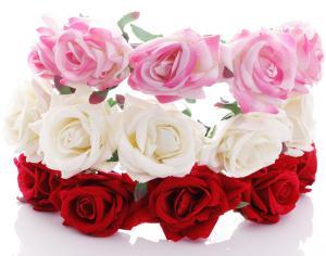 Diadem - Stora rosor