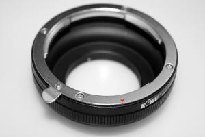 Kiwifotos Objektivadapter till Canon EOS för Micro 4/3 kamerahus