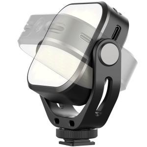 VIJIM Roterbar videolampa för kamera med inbyggt batteri