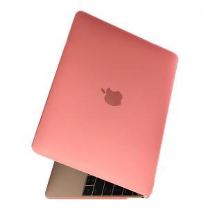 Skal för Macbook Matt frostat 12-tum - Rosa