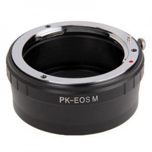 Objektivadapter till Pentax K för Canon EOS M kamerahus