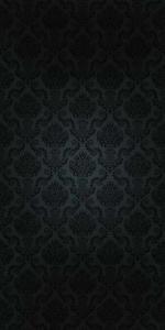 Vinylbakgrund - Damaskmönster svart