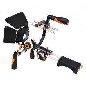YELANGU C-formad axelmonteringssats för DSLR & Videokameror (orange)