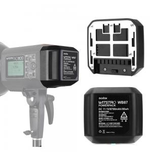 Godox WB87 Batteripaket 11.1V 8700mAh för AD600/ AD600B/ AD600BM/ AD600M