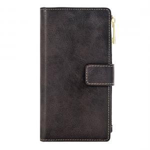Plånboksfodral för iPhone 7Plus/ 8Plus - Retro med magnetskal PU-läder