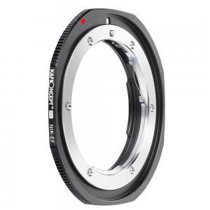 K&F Objektivadapter till Nikon F/AF AI AI-S objektiv för Canon EOS kamerahus