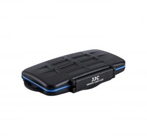 JJC Minneskortsfodral för 8x SD + 8x MSD + 2x SIM + 2x MicroSIM + 3x NanoSIM