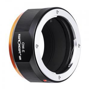 K&F Concept Objektivadapter Pro till Olympus OM objektiv för Sony E kamerahus