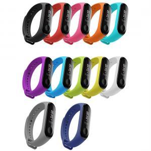Armband för Xiaomi Mi Band 3 - Silikon