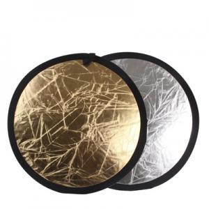 Reflexskärm Guld & Silver