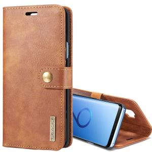 Plånboksfodral med magnetskal för Galaxy S9 Plus - DG.MING