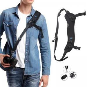 PULUZ Bågformad axelrem & armhålsrem med snabbfäste för digitalkameror