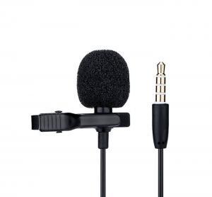 JJC Lavalier Mikrofon för SmartPhones/Surfplattor/Datorer med 4 meter kabel