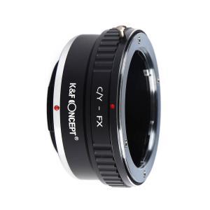 K&F Objektivadapter till Contax/Yashica objektiv för Fujifilm X kamerahus