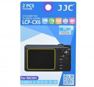 JJC Skärmskydd för Ricoh Digital IV / III / CX6 / CX5 / CX4 /CX3/ GXR