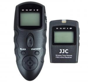JJC Trådlös Multifunktionell-timer fjärrutlösare (Med: Sändare & Mottagare)