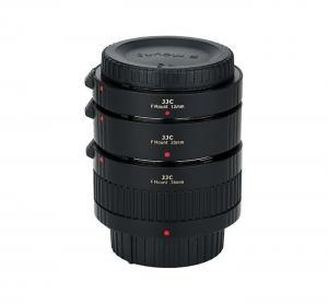 JJC Mellanringar 12mm,20mm & 36mm elektronisk för Nikon F