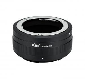 Kiwifotos Objektivadapter till Olympus OM för Nikon Z kamerahus