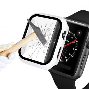 Displayskydd med ram för Apple Watch serie 5 / 4 40mm av härdat glas