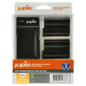 Jupio Batteripaket ersätter Nikon EN-EL15