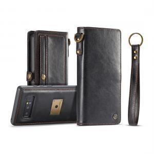 Plånboksfodral med skal PU-läder för Galaxy Note 8 - CaseMe