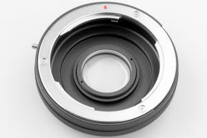 Kiwifotos Objektivadapter till Yashica & Contax Optisk för Nikon F kamerahus