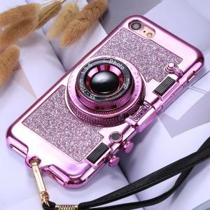 Kameraskal för iPhone 7 & 8 - Magenta
