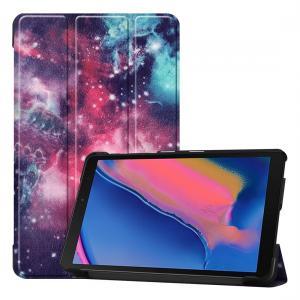 Fodral för Galaxy Tab A 8.0 (2019) P205 / P200 med rymdmönster