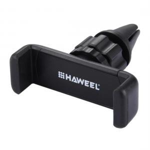 HAWEEL 360 graders mobilhållare som fästes i bilens ventilationsgaller