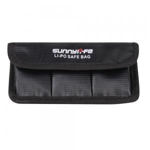 Sunnylife Säker förvaringsväska för Osmo Action Batterier