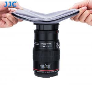 JJC Bakre Objektivlock (4 st) (kardborrefäste) kompatibel med: Canon EF / EF-S