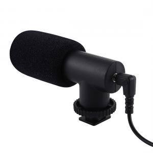 Puluz Stereomikrofon för Smartphones DSLR med 3.5mm kontakt