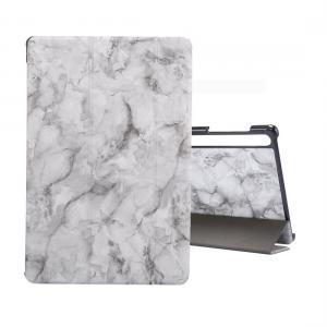 Fodral för Galaxy Tab S6 T860 med grå marmormönster