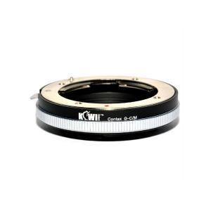Kiwifotos Objektivadapter Contax G för Canon EOS M kamerahus