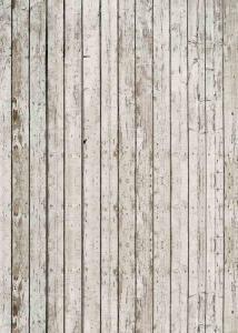 Vinylbakgrund 1.5x3m - Sliten trävägg beige