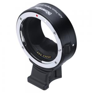 Commlite Objektivadapter elektronisk till Canon EF/EF-S för Canon RF Kamerahus