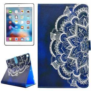 Fodral för iPad Pro 10.5-tum - Mandalablomma blå