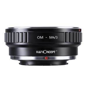 K&F Objektivadapter till Olympus OM objektiv för Micro 4/3 kamerahus