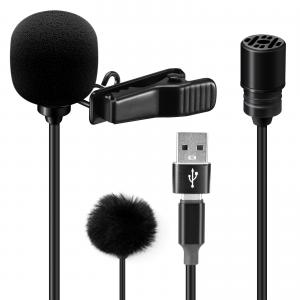 Myggmikrofon för mobil med USB-C - Sairen