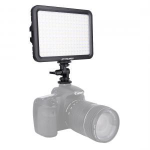 YELANGU 204st LEDs Dimbart Videoljus (17x12cm) - 1000LM, 3300-5600K