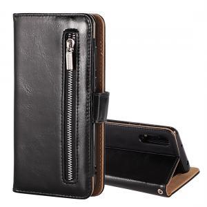 Plånboksfodral med avtagbart skal & handledsrem för Huawei P20 Pro