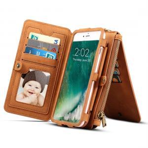 Dibase för iPhone X - Multifunktionell Plånboksfodral Läder