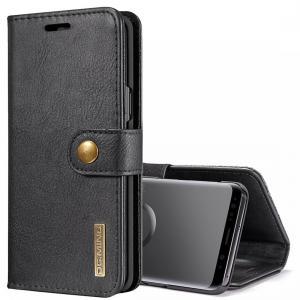 DG.MING Plånboksfodral med magnetskal för Galaxy S9
