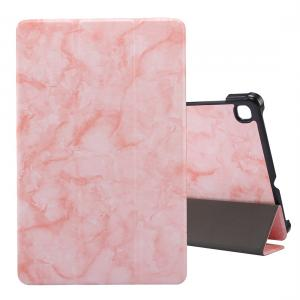 Fodral för Galaxy Tab S6 Lite P610/P615 med rosa marmormönster