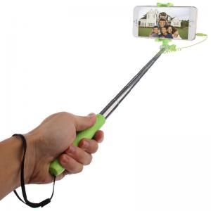 HAWEEL Multifunktionell selfiepinne med inbyggd kameraavtryckare
