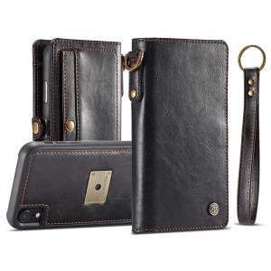 CaseMe för iPhone XR - Plånboksfodral med skal