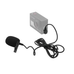Lavaliermikrofon med slipsklämma för Actionkameror med Mini USB-b5