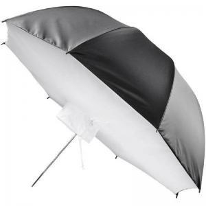 Softbox av paraplymodell Vit/silver med svart utsida